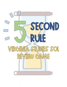 Virginia Studies 5 Second Rule