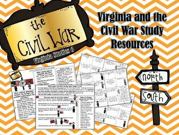 Virginia Studies 7: The Civil War Study Resources