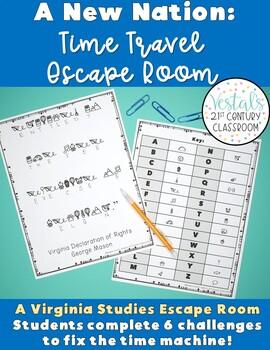 Virginia Studies: A New Nation Escape Room (VS.6)