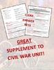 Virginia Studies Civil War Unit (VS.7 a-c)