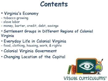 VA Studies: Colonial Virginia Lesson & Flashcards- study guide, exam prep