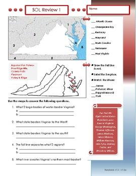 Virginia Studies Complete SOL Review