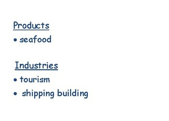VA Studies: Geography, Products & Industries Flashcards- task cards study guide