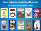 Virginia Studies Interactive Notebook Mega Bundle