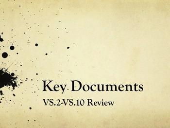 Virginia Studies Key Documents Powerpoint VS.2-VS.10