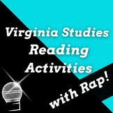 Famous Virginians: Virginia Studies 9 Virginia Studies Reading Passages Bundle