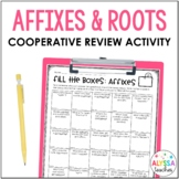 Prefixes and Suffixes Review Activity