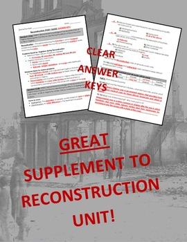 Virginia Studies Reconstruction Unit (VS.8 a-c)