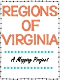 Virginia Studies: Regions of Virginia Mapping Project