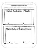 Virginia Studies Review Activities: VS.6 New Nation
