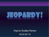 Virginia Studies Review Jeopardy (Part 2)