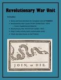 Virginia Studies Revolutionary War Unit (VS.5 a-c)