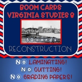 Virginia Studies SOL Review Reconstruction VS 8