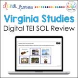 Virginia Studies SOL TEI Questions (Digital Review Activities)