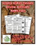 Virginia Studies Timeline Bundle Pack