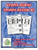 Virginia Studies Timeline Review #7