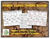 Virginia Studies Timeline Sort