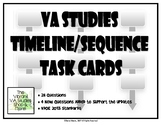 Virginia Studies Sequencing SCOOT / Task Cards