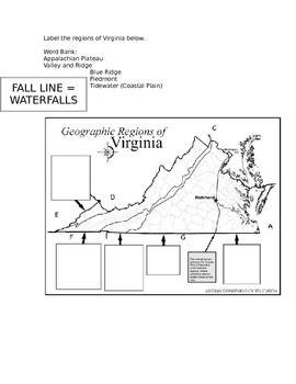 Virginia Studies Unit 1 Interactive Notes - VS.2a-b