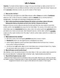 Virginia Studies Unit 7 Notes - The Civil War