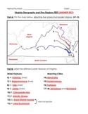 Virginia Studies: VA Geography/Five Regions Study Guide & Test
