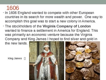 Virginia Studies VS.3a-c Jamestown PPT