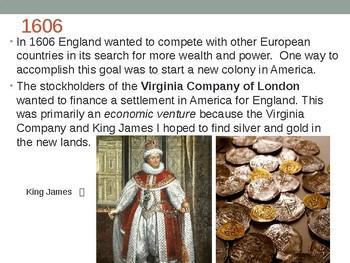 Virginia Studies VS.3a, VS.3b, and VS.3c (VS.3a-c) Jamestown PPT