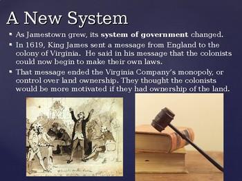 Virginia Studies VS.3d New Government PPT