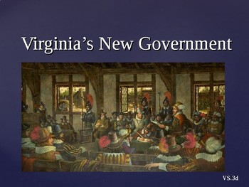 Virginia Studies VS.3d New Government PPT