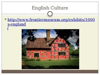 Virginia Studies VS.4b The Cultural Landscape of Colonial Virginia Powerpoint
