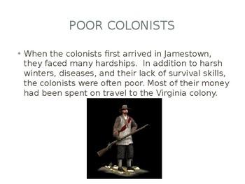 Virginia Studies VS.4d Colonial Economics
