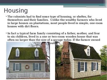 Virginia Studies VS.4e Colonial Life PPT