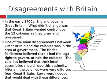 Virginia Studies VS.5a Reasons For Independence PPT