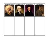 Virginia Studies VS.6 Sort (Washington, Jefferson, Mason, Madison)
