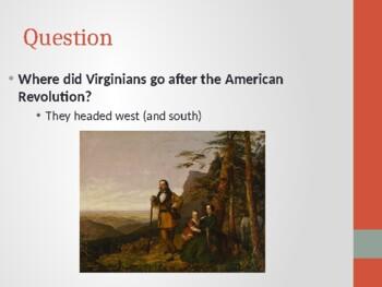 Virginia Studies VS.6C Westward Migration Powerpoint