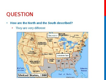 Virginia Studies VS.7a Differences Between the North and South PPT
