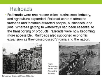 Virginia Studies VS.8c Virginia's Economy Economic After the Civil War