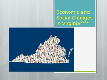 Virginia Studies VS.9a Econonic and Social Changes in Virginia