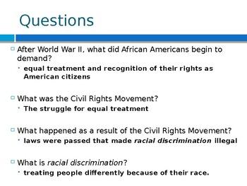 Virginia Studies VS.9c The Civil Rights Movement in Virginia