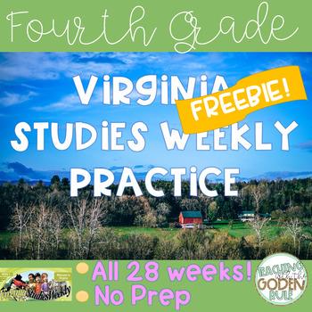 Virginia Studies Weekly practice FREEBIE