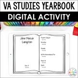Virginia Studies Yearbook Digital Activity