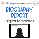 Digital Biography Report in Google Slides™