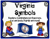 Virginia Symbols Readers, Comprehension Activities, Pop-Up Card and MORE!!