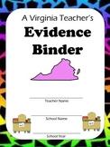 Virginia Teacher Evaluation Portfolio (TPES Binder)
