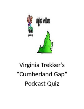 "Virginia Trekker's ""Cumberland Gap"" Podcast Quiz"