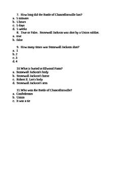 "Virginia Trekkers ""Fredericksburg"" Podcast Quiz"
