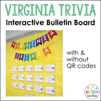 Virginia Trivia Bulletin Board Set/Task Cards