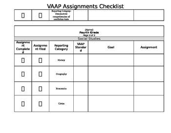 Virginia VAAP Completion Checklist