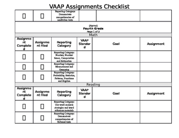 Virginia VAAP Completion Checklist