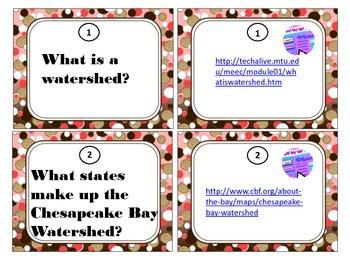 Virginia Watershed Task Cards